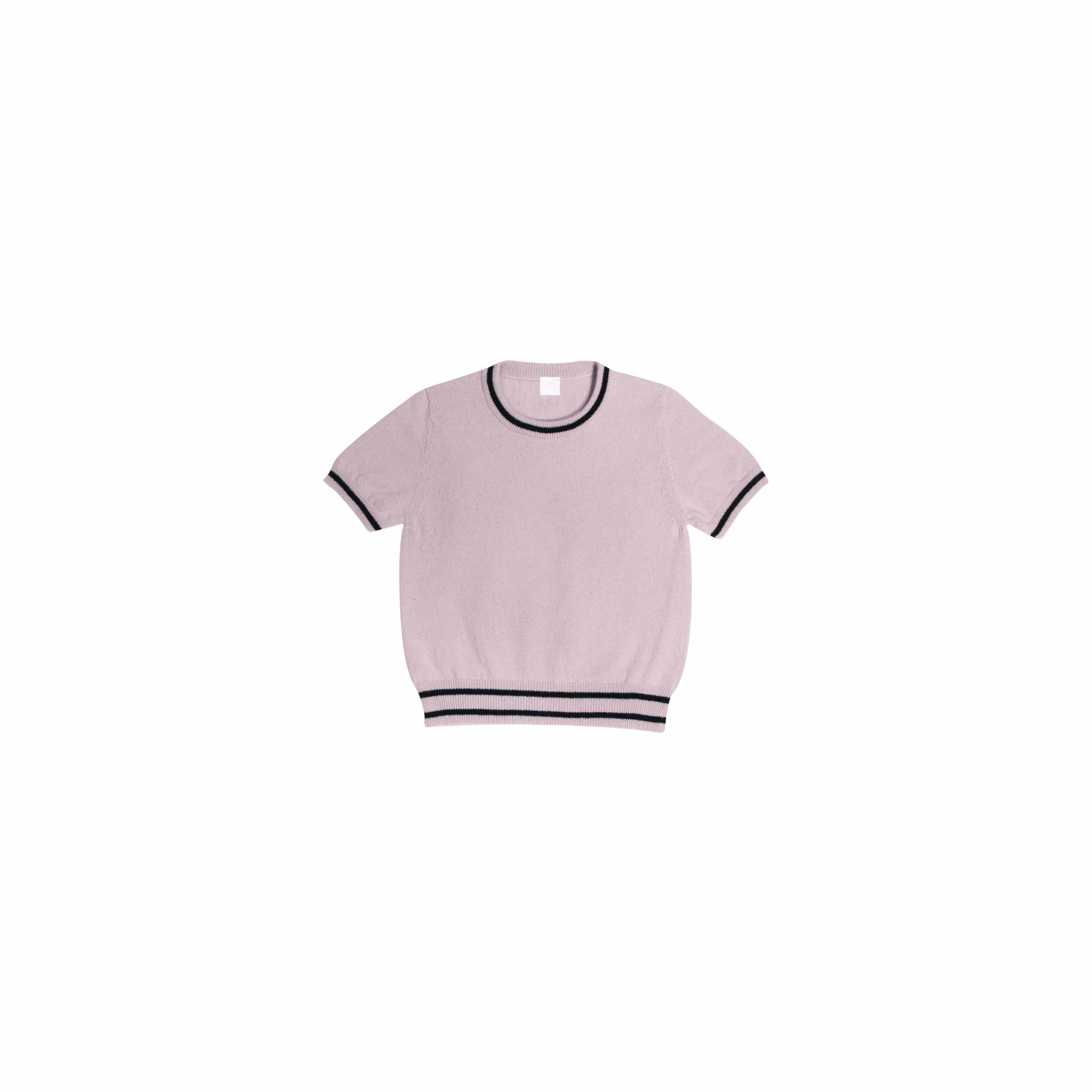 Short sleeves sweater